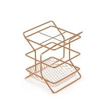 Porta Talheres Cutlery Rack Rose Gold - Arthi - Não definido