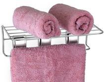 Porta Toalha De Banho Banheiro Não Precisa Furar Fixa Sucção - Arthi