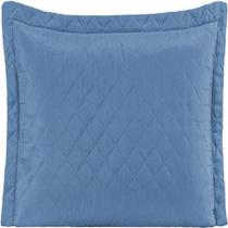 Porta Travesseiro Matelassê Ultrassônico Azul - Mr enxovais