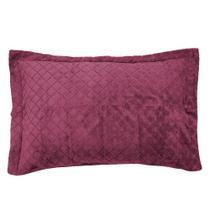 Porta Travesseiro Plush Inove - Hedrons -