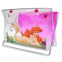Porta Treco com Gel Sereia Ariel Princesas Disney - Comercial wei