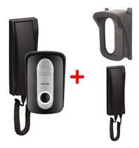 Porteiro Eletrônico C/ Interfone Adicional E Protetor - Protection