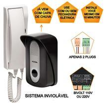 Porteiro Eletrônico Residencial Interfone Bivolt PT-270 - Protection -