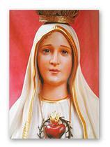 Postal Nossa Senhora de Fátima - Vermelho - Armazem