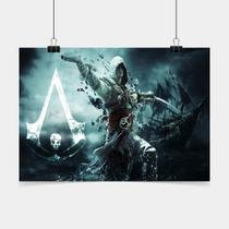 Poster Game Adesivo assassins creed iv PG0089 - Conspecto