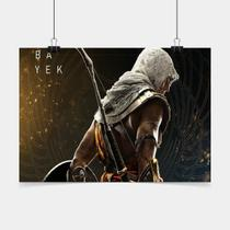 Poster Game Adesivo Assassins Creed Origins PG0130 - Conspecto