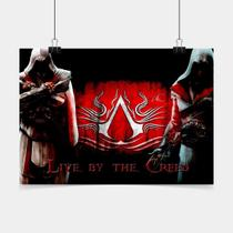 Poster Game Adesivo Assassins Creed PG0108 - Conspecto