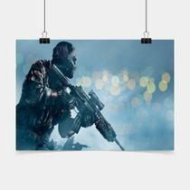 Poster Game Adesivo call of duty ghosts PG0276 - Conspecto