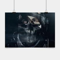 Poster Game Adesivo call of duty ghosts PG0278 - Conspecto