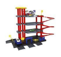 Posto Brinquedo Estacionamento Lava Rápido Com Carrinhos - Importway