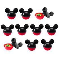 Pote de Lembranças para festas do Mickey Grande - Kit com 20 - Plasútil