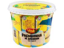 Pote Paçoca Tablete de Amendoim Yoki 1,1 Kg sendo 22g cada -