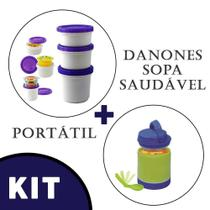 Pote para Iogurte  + Pote Cool Gear Para Sopa -