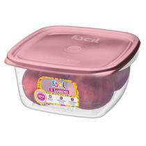 Pote Plástico Sanremo Ref.130 1,95 L - Rosa -
