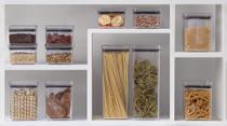 Potes Alimentos Mantimentos Quadrado Cozinha Kit Com 12 Peças - Paramount