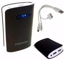 Power Bank Bateria Extra Carregador Movel Portátil Celular -