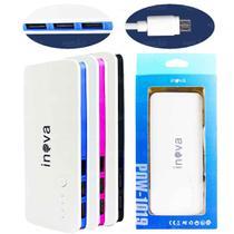 Power Bank Inova 10000mah 3 Usb Com Lanterna Led - POW-1019 -