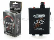 Power Click F10 Amplificador e Monitor de Áudio de Fone de Ouvido -