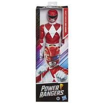 Power Rangers Boneco 30 cm Action Ranger Red - Hasbro E5914