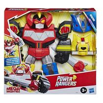 Power Rangers Sabans Mega Mighties -  Megazord Articulado 30 cm - Hasbro