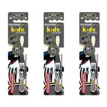 Powerdent Santos Escova Dental Macia + Protetor (Kit C/03) -