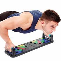 Prancha Suporte Exercicios de Musculação Flexão 9 em 1 Funcional Funcional - Mec