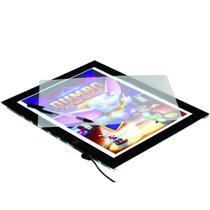 Prancheta Portátil de Desenho com Luz LED Super Brilho A4-Trident -