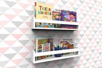 Prateleira Montessoriana Livros 40 cm - 2 peças - MONTALAR