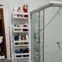 Prateleira para banheiro kit 4 peças - Pabimi