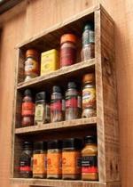 Prateleira Para Especiarias 3 Andar Porta Temperos Cozinha - Gdn