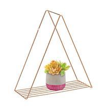 Prateleira Triangulo 40cm Decora Rose Gold - Ref.2324 - Arthi