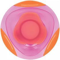 Pratinho Bowl Azul com Ventosa Rosa 5808 Buba -