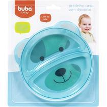 Pratinho De Urso Com Divisória Azul - Buba -