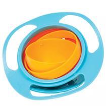 Pratinho Giro Bowl 360 Potinho Mágico Azul Buba Baby 5854 -