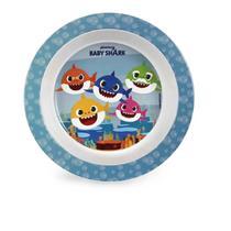 Prato Bowl Para Microondas Infantil Baby Shark BabyGo -