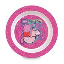 Prato Bowl  Para Microondas Minha Primeira  Peppa Pig BabyGo -