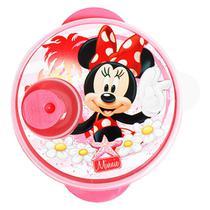 Prato c/ Divisões e Tampa p/ Micro-Ondas Disney Minnie Baby 1297 - Babygo
