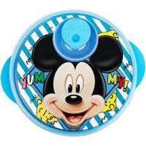 Prato Com Divisões E Tampa Para Microondas Disney Baby Mickey - Baby Goo
