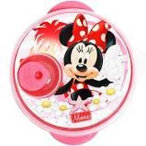 Prato Com Divisões E Tampa Para Microondas Disney Baby Minnie - Baby Goo