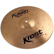 Prato De Bateria Medium Hi-Hat 14 Pol Bronze B8 Fusion Krest -
