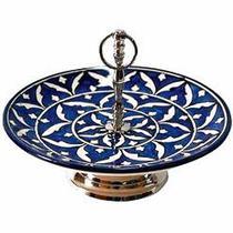 Prato de Cerâmica para Doces - Decorafast
