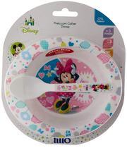 Prato fundo com colher - Minnie Mouse LILLO DO BRASIL INDU - Disney