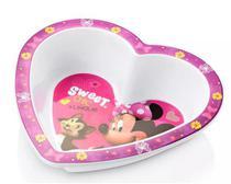 Prato fundo para microondas Minnie - Multikids - Disney