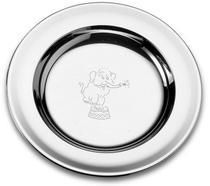 Prato Infantil Tramontina Baby em Aço Inox Elefante 23 cm - 61254230 -