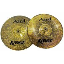 Prato Krest Aged Brass Ab13hh Chimbal 13 -