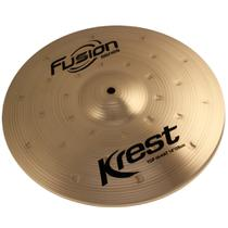 Prato Para Bateria - Medium Hi Hat 14 - Krest Fusion - F14mh - Krest Cymbals
