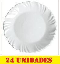 Prato Porcelana Fundo Duralex Menu Nadir Cod N5843(cx24) - Nadir Figueredo