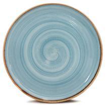 Prato Raso Artisan Coupé 28 cm Azul Corona -