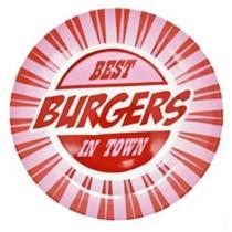 Prato Raso Burgers em Porcelana 27cm - Edfort