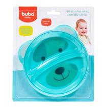 Prato Raso com Divisórias Urso Azul - Buba Baby 5811 - Buba toys